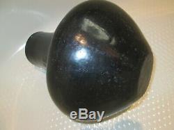 12 Santa Clara san ildefonso Black on Black pottery pot Native American Indian