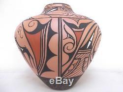 13 Coiled Zuni Pottery Native American Indian Pueblo Deer by Priscilla Peynetsa
