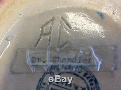 1915 North Dakota School Of Mines Signed Handled Pot Native American Design