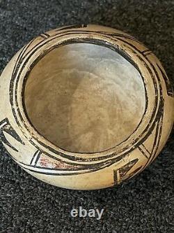 1920s Pueblo Hopi Native American Pottery Bowl Fine Old Indian