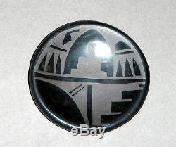 1985 San Ildefonso Pueblo Pottery by Blue Corn, Crucita Gonzales Calabaza