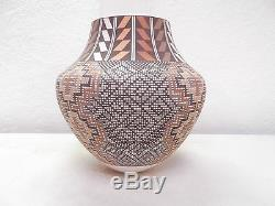 7 Coiled Acoma Pottery Native American Indian Pueblo by Frederica V. Antonio