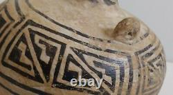 ANASAZI Antique Native American Clay Canteen Pottery 1200 AD Indian Pot Rare