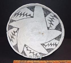 Anasazi Early Red Mesa B/w Bowl, 900-1050 Ad, Apache Co, Az