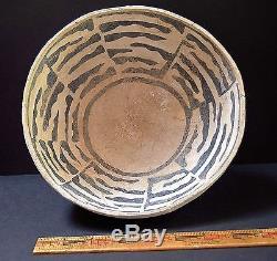 Anasazi Holbrook B/w Large Bowl, 1050-1150 Ad