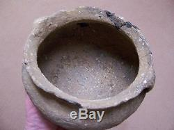 AUTHENTIC MISSISSIPPIAN POTTERY JAR FROM THE CAHOKIA SITE, BYRON KNOBLOCK COLL