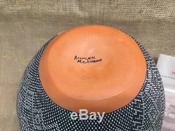 Acoma, NM Native American Pueblo Fine Line Large Pottery -Melissa C. Antonio