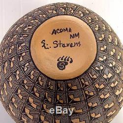 Acoma Native American Hand Crafted Pottery by Stevens SKU#217755