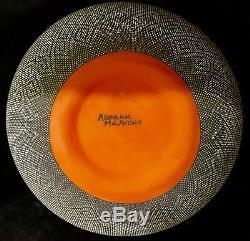 Acoma Native American Pueblo Fine Line Extra Large Pottery -Melissa C. Antonio