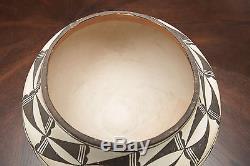 Acoma Polychrome Olla 1930's Pot Indian Native American