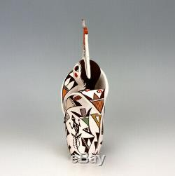 Acoma Pueblo Native American Indian Pottery Cornmaiden #3 Judy Lewis