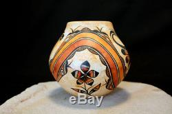 Acoma Pueblo Native American Indian Pottery Parrot Olla Westly Begaye