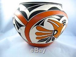 Acoma Pueblo Native American Pottery by Robert Patricio