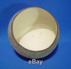 Acoma Pueblo Pottery Fine Line Jar by Sarah Garcia 4 x 5 1/4