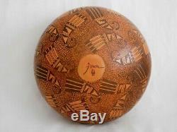 Amazing Large Hopi Indian Pottery Jar By Award Winning Artist Fawn Navasie