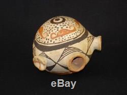 An early Acoma pottery canteen, Native American Indian, Circa 1920