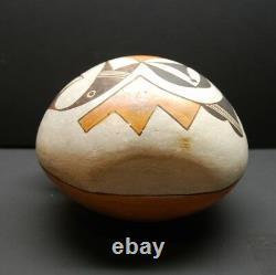 An early Acoma pottery canteen, Native American Indian, Circa 1930/40
