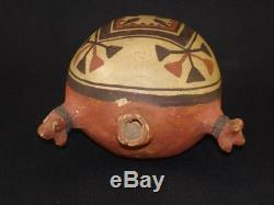 An early Zuni pottery canteen, Native American Indian, Circa 1920