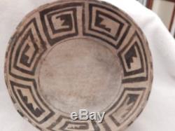 Anasazi Black on White Bowl