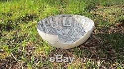 Anasazi Chaco Black & White Bowl No Restoration, Prehistoric Pueblo