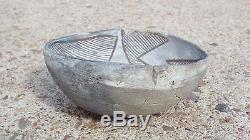 Anasazi Chaco Bowl, No Restoration Prehistoric Pueblo