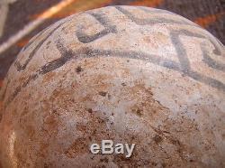 Anasazi Handled Jar, Prehistoric Pueblo 4 1/2 by 14 1/2