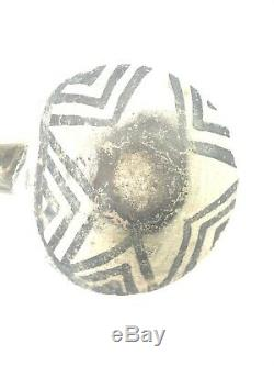 Anasazi Pottery Painted Black/White Native American Ladle Dipper Circa 1100 AD