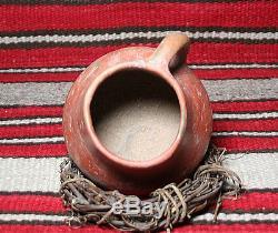 Anasazi / Sinagua red mug ca. 1000 ad. Intact No Restoration
