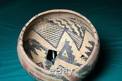 Anasazi / Tonto Salado polychrome bowl ca. 1275 ad. No Restoration