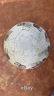 Anasazi Tularosa/Reserve Black & White Bowl No Restoration, Prehistoric Pueblo