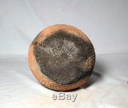 Anasazi intact corrugated olla ca. 1100 ad No Restoration