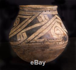 Ancestral Pueblo (Anasazi), Black Mesa Black-on-white Jar Kayenta AZ NO RESERVE