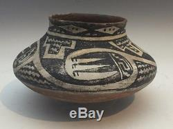 Ancient Salado Tonto Polychrome Olla 1350 AD 1600 AD No Reserve