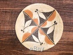 Antique 1920s-1930s Acoma Pueblo Pottery Bowl Native American