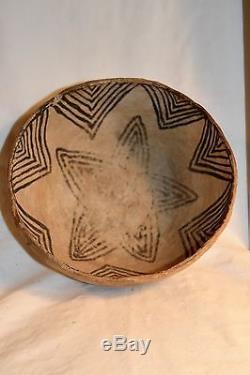 Antique ANASAZI Culture Pottery Bowl