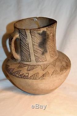 Antique ANASAZI Culture Pottery Picture