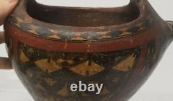 Antique Early South West Native American Indian Pre-Columbian Pottery Vessel