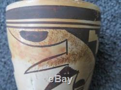 Antique Hopi Native American Painted Cylinder Estate Find