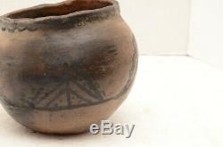 Antique Native American Indian Pottery Pot Effigy Bowl Dish Ancient Old Mojave