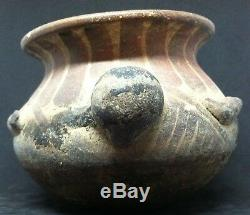 Antique Native American Olla Pot Turtle Fish Clay Pottery Bowl Jar Vessel Jug