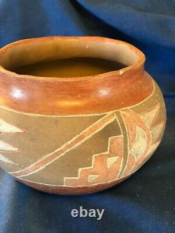 Antique Native American Pot (not signed)