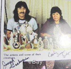 Authentic Native American Joseph Gachupin Handmade Storyteller Jemez Pueblo