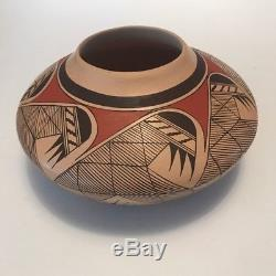 Authentic Seed Jar Pot Hopi-Tewa Pueblo Native American by Clinton Polacca
