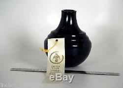 Award Winning Santa Clara Indian Pottery by Greg Garcia c. 1994, 7ht, Mint