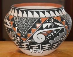 Awesome Fine Line Roberta Sky Trujillo Acoma Olla Awesome Free Ship