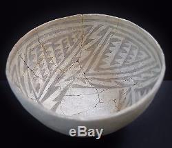 BLACK MESA B/W BOWL (8.5 X 5.5), 1000 1100 AD, Anasazi Pottery