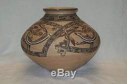 Beautiful Native American Santa Clara Pottery Lois Gutierrez Signed Lois 1987