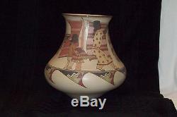 Beautiful Native American Santa Clara Pottery Lois Gutierrez Signed Lois 2003