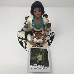 Beautiful Rachel Arnold Storyteller Acoma Pottery / Native American
