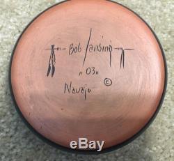 Bob Lansing Navajo Native American Indian pottery